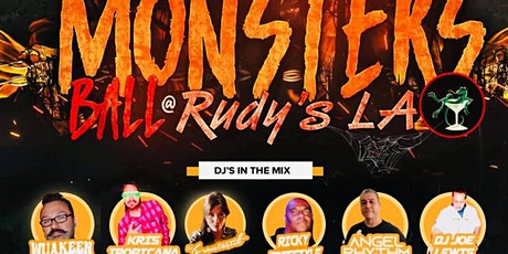 Halloween Monster Ball at Rudy's LA with DJ's & Costume Contest tickets