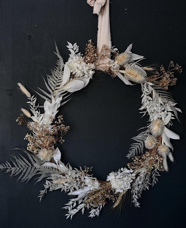 Dried Wreath Workshop image