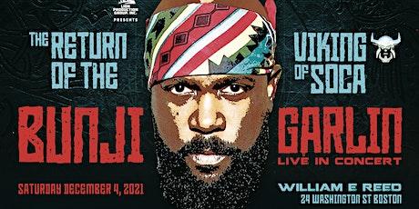 Bunji Garlin - Live In Concert tickets