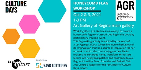 Honeycomb Flag Workshop tickets
