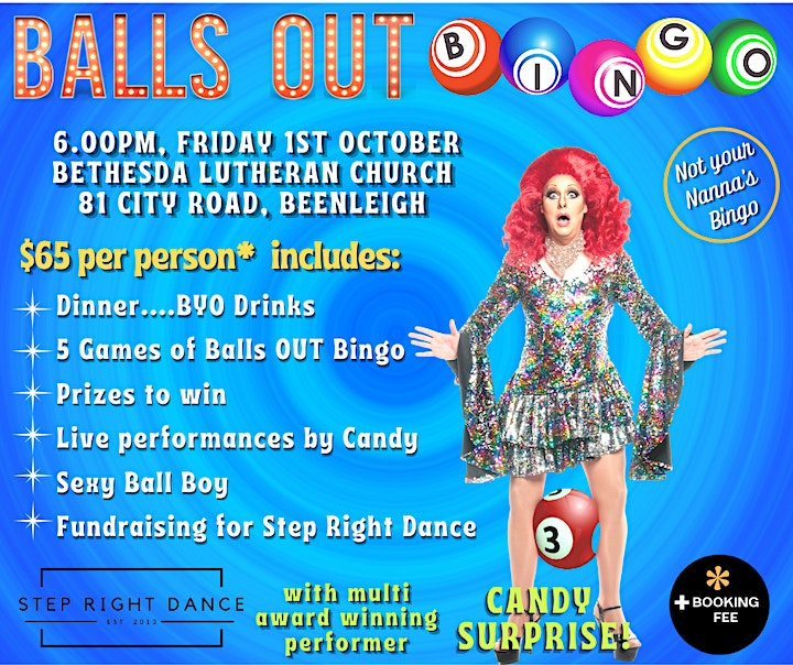 Balls Out Bingo - Step Right Dance Fundraiser image