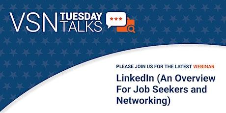 VSN Tuesday Talks - LinkedIn Overview tickets