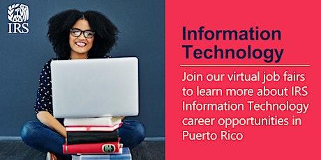 IRS Information Technology Virtual Job Fair - Puerto Rico tickets
