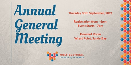 Annual General Meeting 2021 tickets