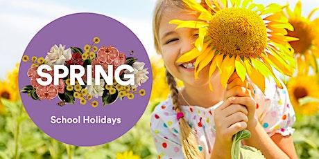 Hello Spring School Holiday Workshops - Rainbow Caterpillars tickets