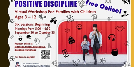 Positive Discipline Parenting for Parents of 5-12year olds tickets