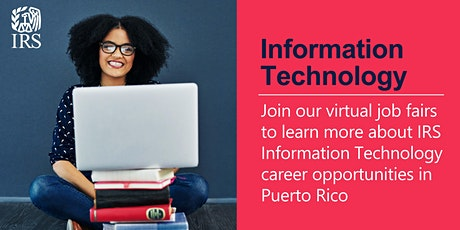IRS Information Technology Virtual Job Fair - Puerto Rico biglietti