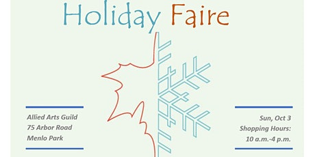 Holiday Faire at Allied Arts Guild tickets