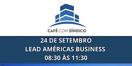 Café Com Síndico - 24 de Setembro ingressos