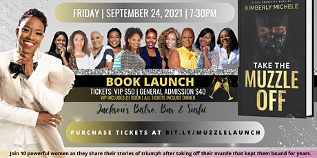 Take The Muzzle Off Book Launch tickets