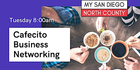 Online Business Networking - Cafecito Tuesday, October 12th tickets