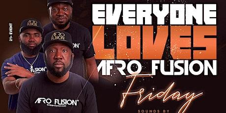 Afrofusion  Friday : Afrobeats, Hiphop, Dancehall, Soca (9/24) tickets