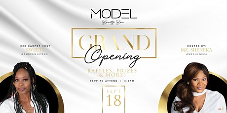 iModel Beauty Bar Grand Opening and Ribbon Cutting tickets