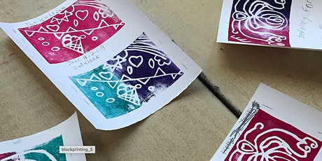 BLANK CANVASES: BLOCK PRINTING STATIONS tickets