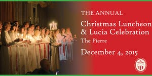 Annual Christmas Luncheon & Lucia Celebration