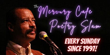 Mercury Poetry Slam tickets