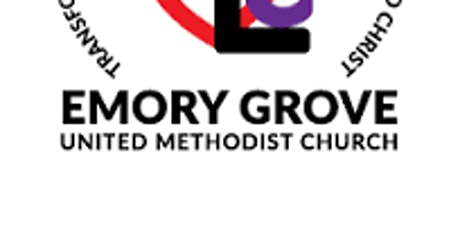 Emory Grove UMC Service tickets
