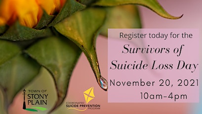 Survivors of Suicide Loss Day tickets