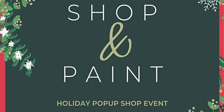Holiday Paint and Shop tickets