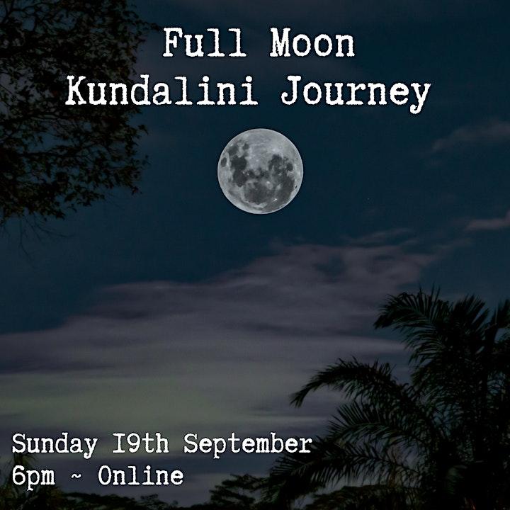 Full Moon Kundalini  Journey image