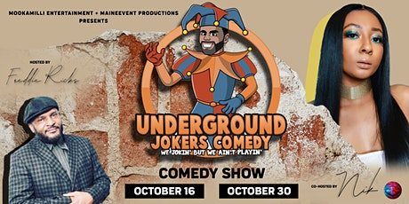 UNDERGROUND JOKERS: Comedy Series tickets