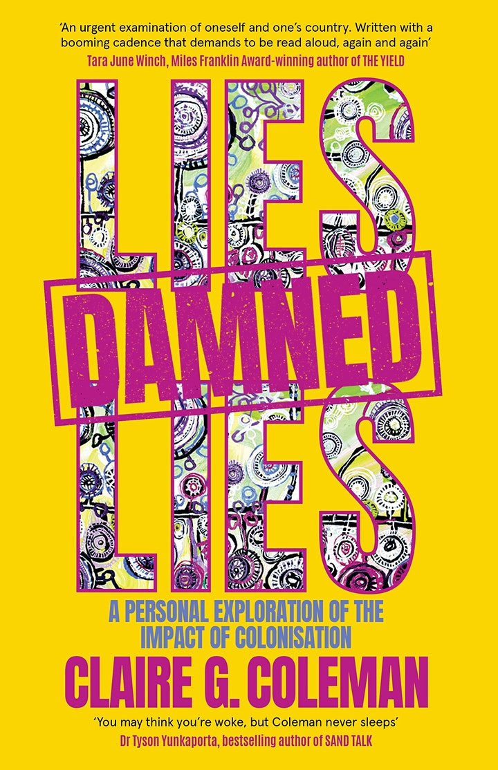 Claire G. Coleman presents Lies, Damned Lies image