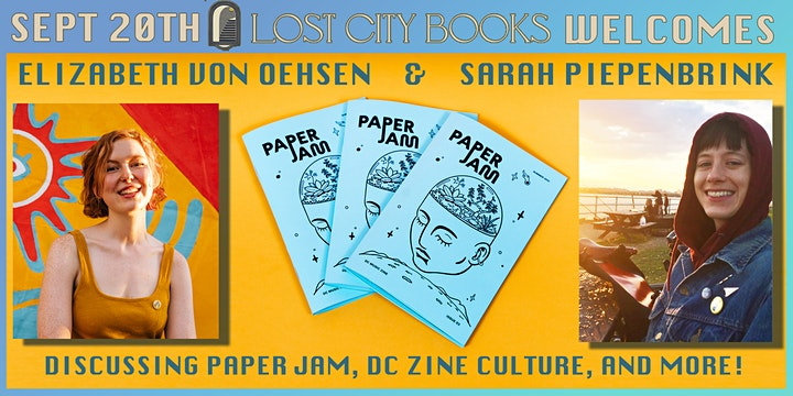 Paper Jam Issue 2 at Lost City Books! image