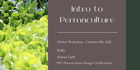 Introduction To Permaculture - Online Workshop tickets