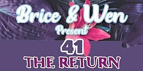 """Brice & Wen Present: """"The Return"""" tickets"""