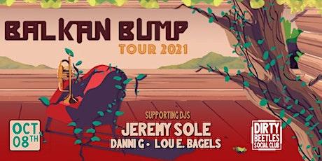 Balkan Bump NFTrees tour -LA tickets