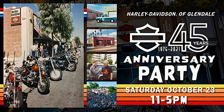 45th Anniversary Party | Harley-Davidson of Glendale tickets