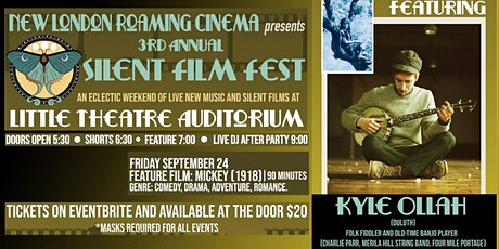 """Live Music+Film: Kyle Ollah + """"Mickey"""" (1918) tickets"""