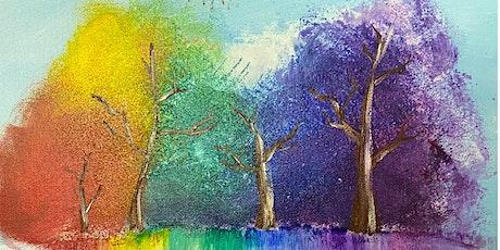 Rainbow Trees Beginners Class tickets