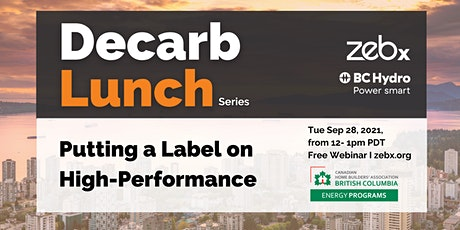 Sep 2021 ZEBx Decarb Lunch tickets