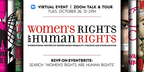 Women's Rights Are Human Rights Zoom Event Reception Talk & Tour tickets