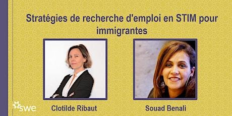 Stratégies de recherche d'emploi en STIM pour immigrantes billets