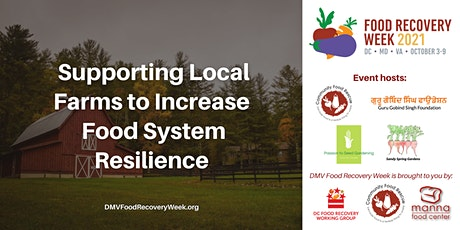 Supporting Local Farms to Increase Food System Resilience tickets