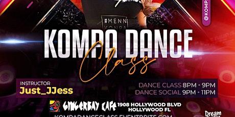 Danse Tuesday's: Kompa Dance Class tickets