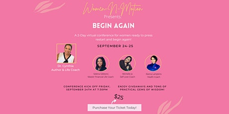 Begin Again- 2 day virtual conference tickets