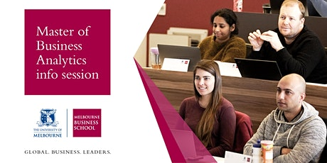 Master of Business Analytics - Information Session tickets