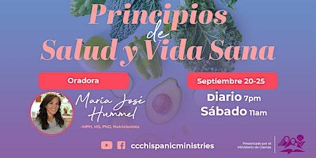 Principios de Salud y Vida Sana boletos