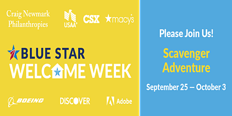Welcome Week Virtual Scavenger Adventure tickets