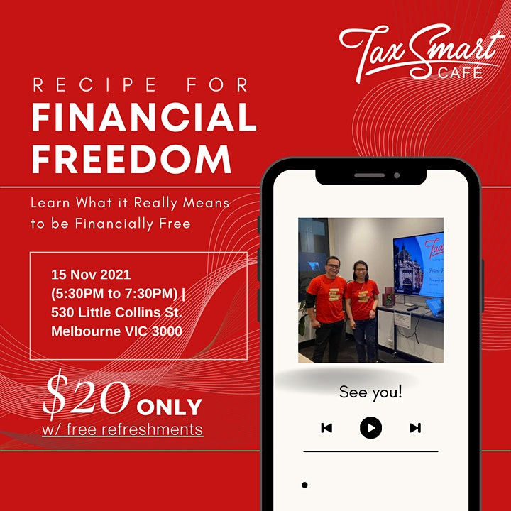 What it Really Means to be Financially Free: Recipe for Financial Freedom image