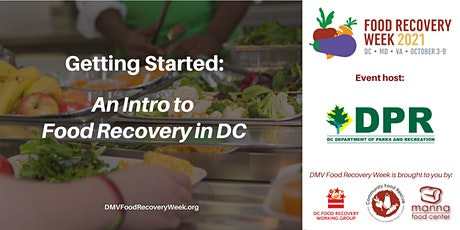 Intro to Food Recovery in DC tickets