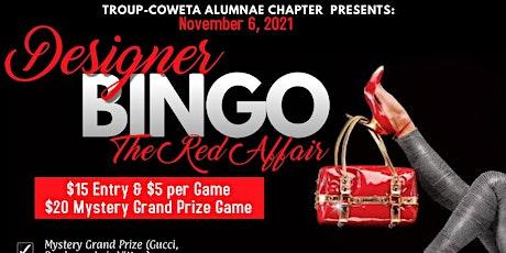TCAC Designer Bingo:The Red Affair tickets