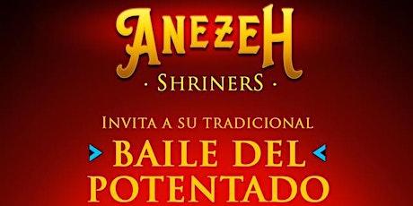 2021 Cena Baile del Potentado - Potentate's Ball - Anezeh Shriners entradas