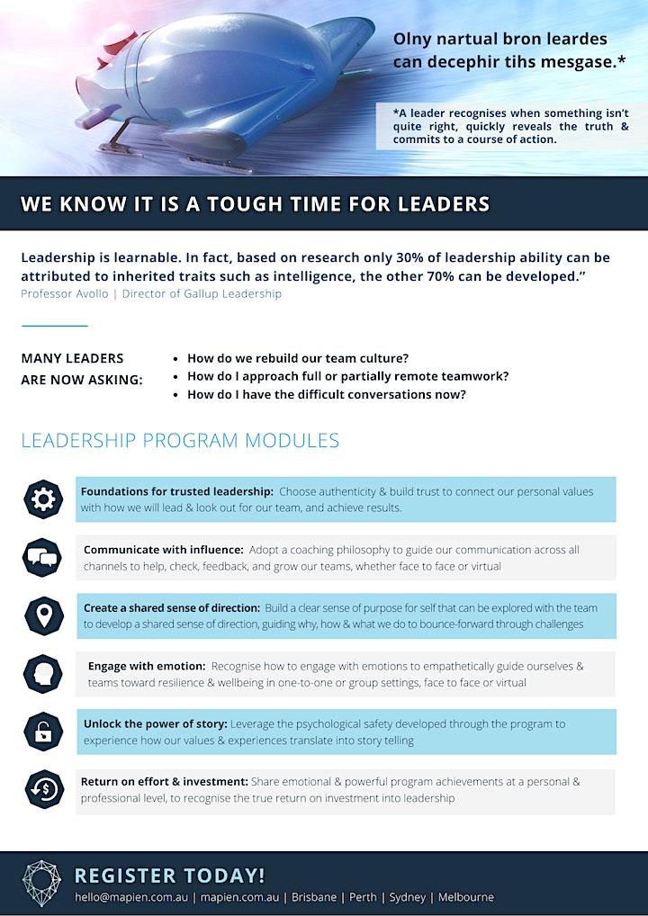Trusted Leader - Digital Leadership Program 2021 image
