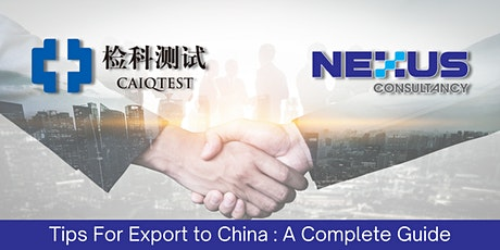 Tips for Export to China : A Complete Guide biglietti