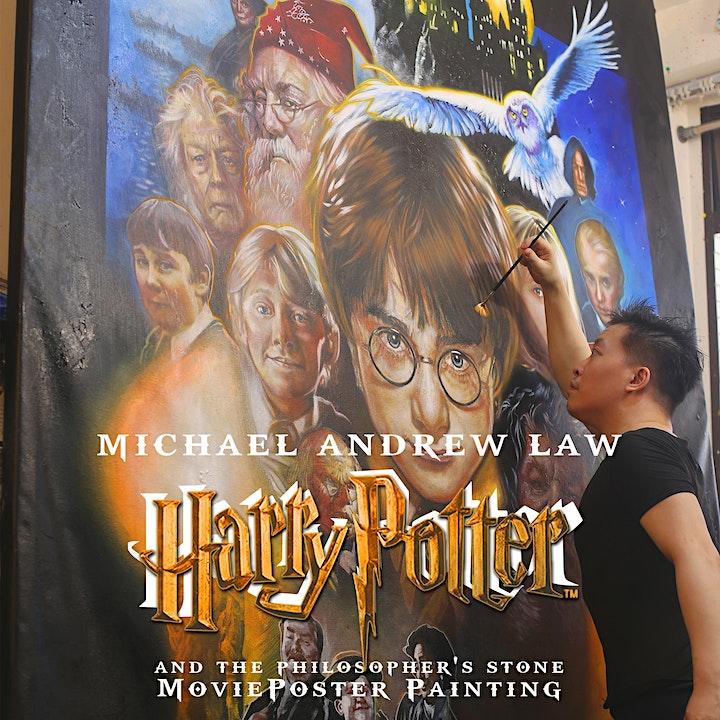 《哈利波特與神袐的魔法石》電影海報 Harry Potter20週年:致敬德魯·斯特魯讚 image