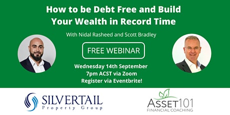How to be Debt Free and Build Your Wealth in Record Time tickets